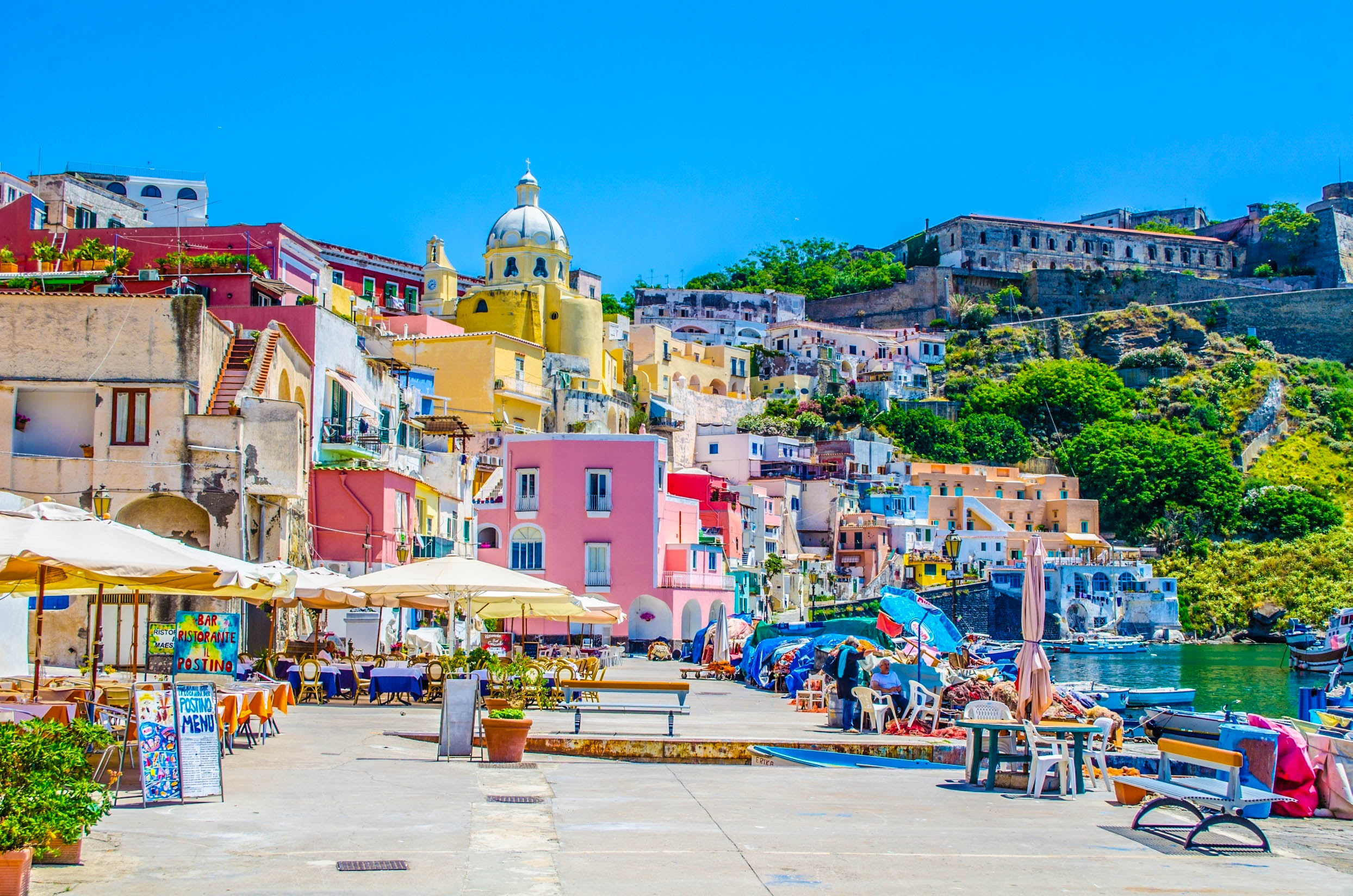 Images Of Beautiful Gardens Procida Italy