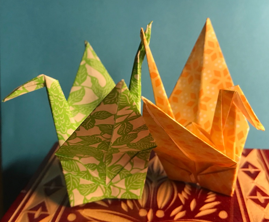 DIY: How to make an origami paper crane — Village Wellness. a main ... | 750x909